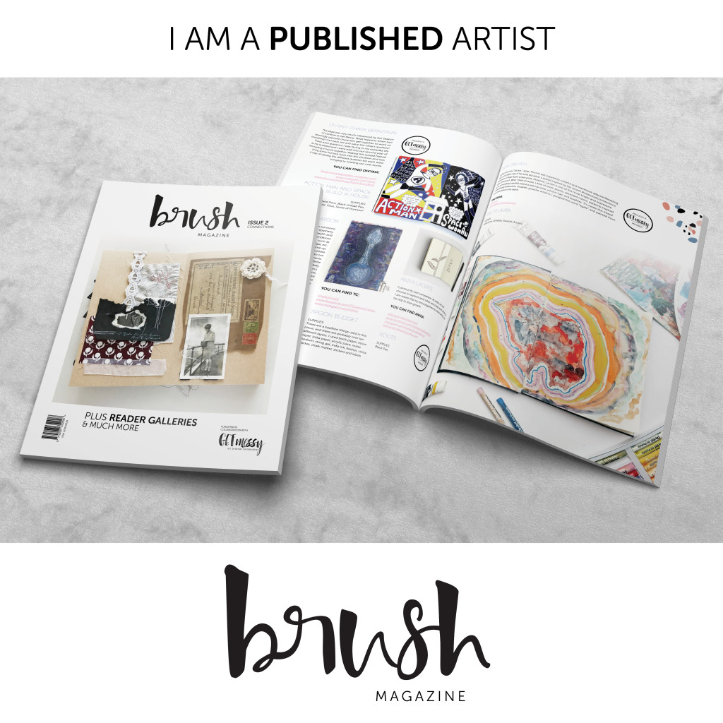 Brush Magazine Issue two ContributorsTile